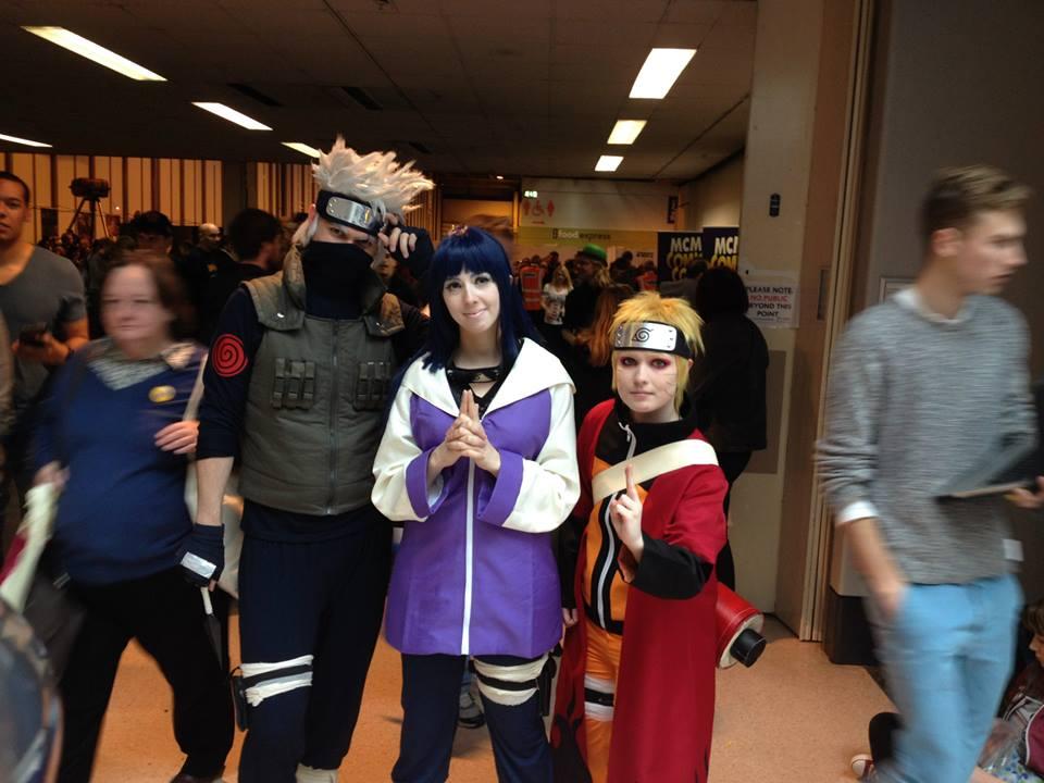 Naruto, Hinata and Kakashi
