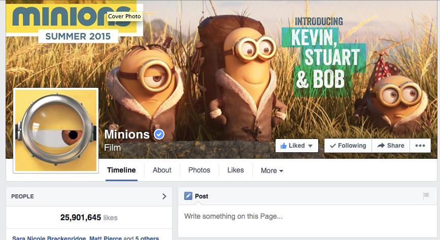 US Minions Facebook