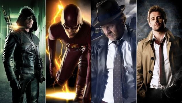 TV superheroes