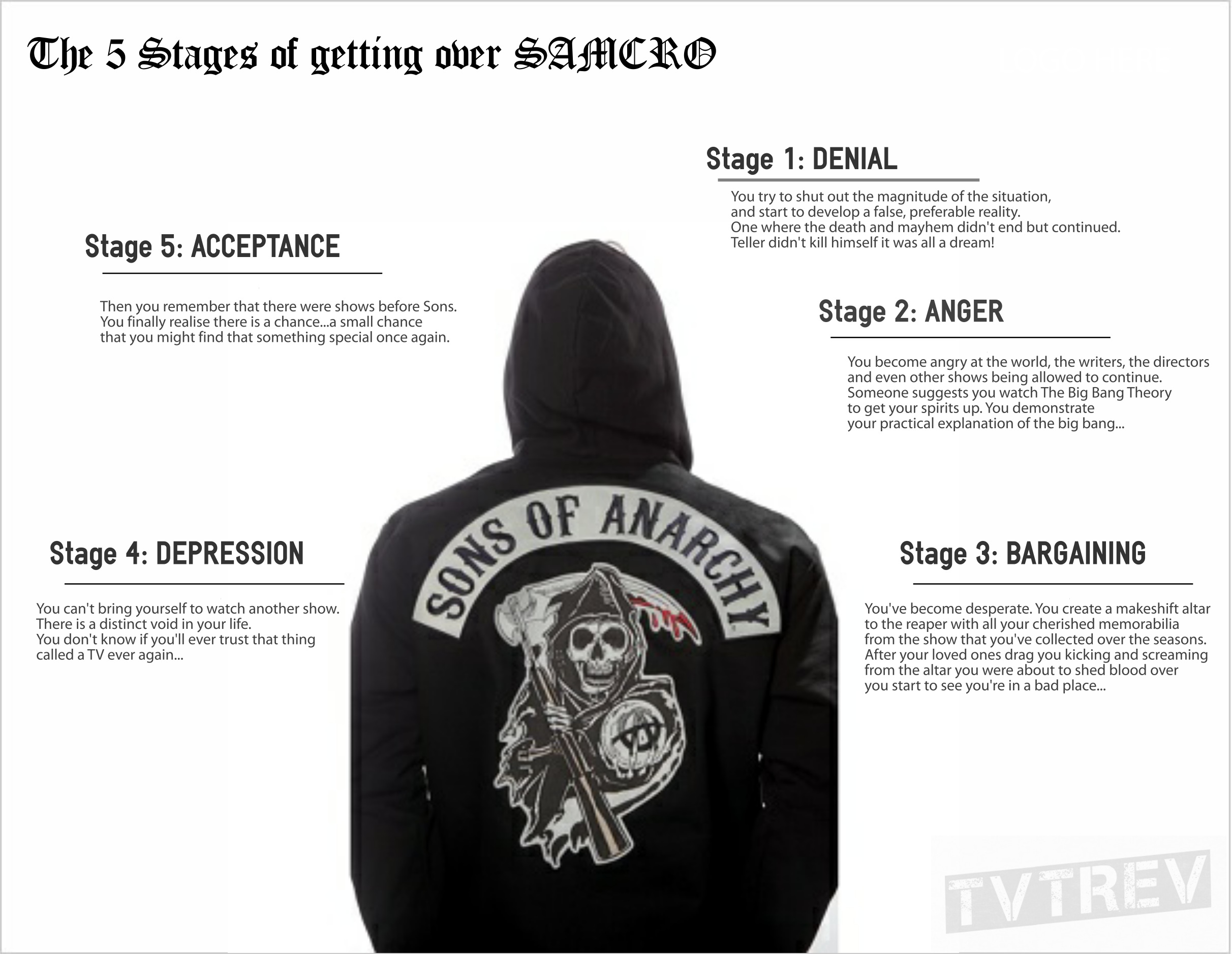 The 5 Stages of Getting Over Sons of Anarchy