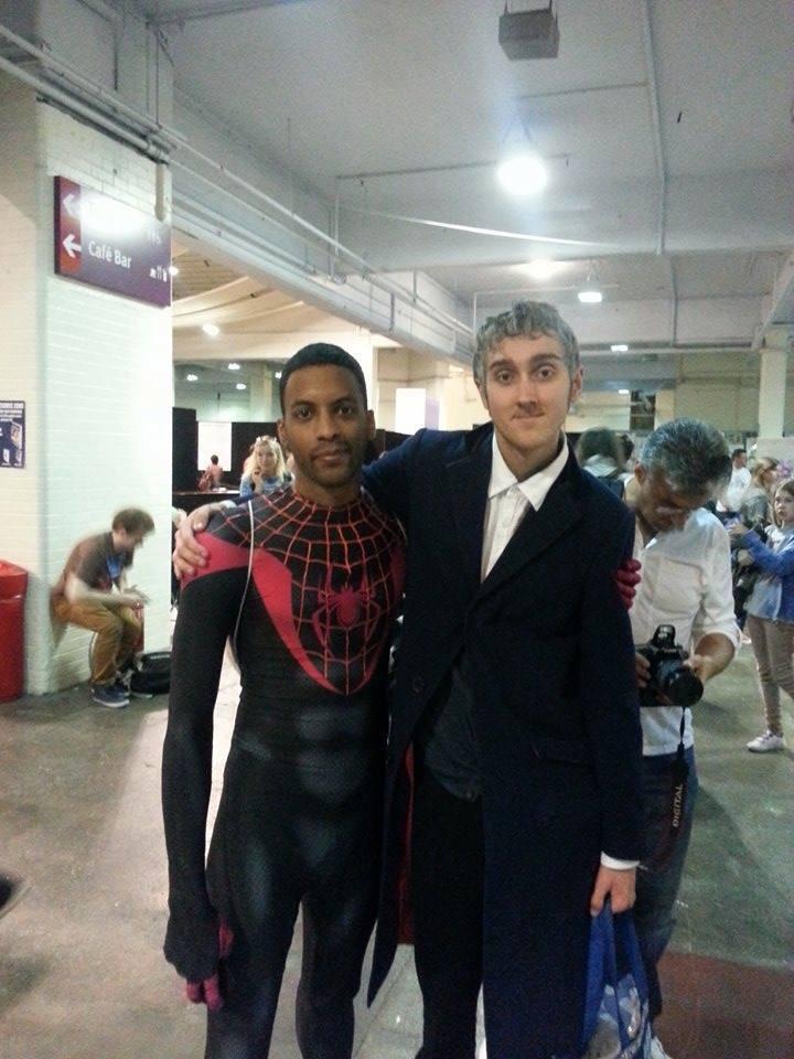 Miles Morales cosplay 2