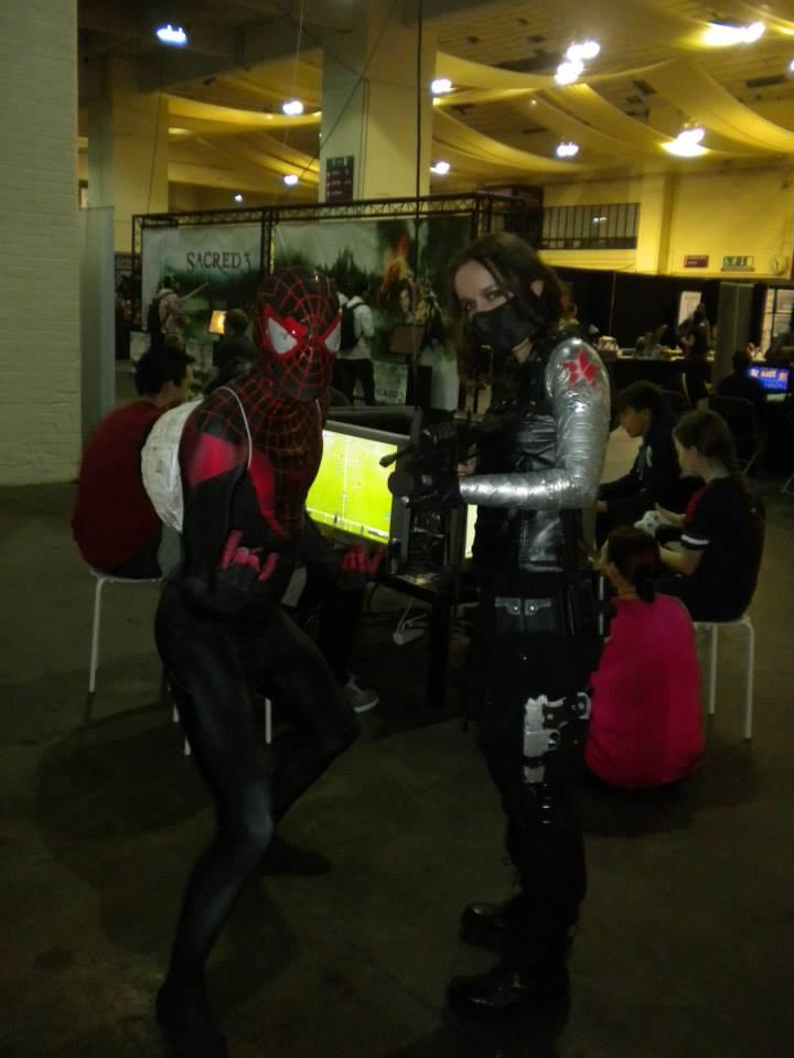 Miles Morales cosplay 3