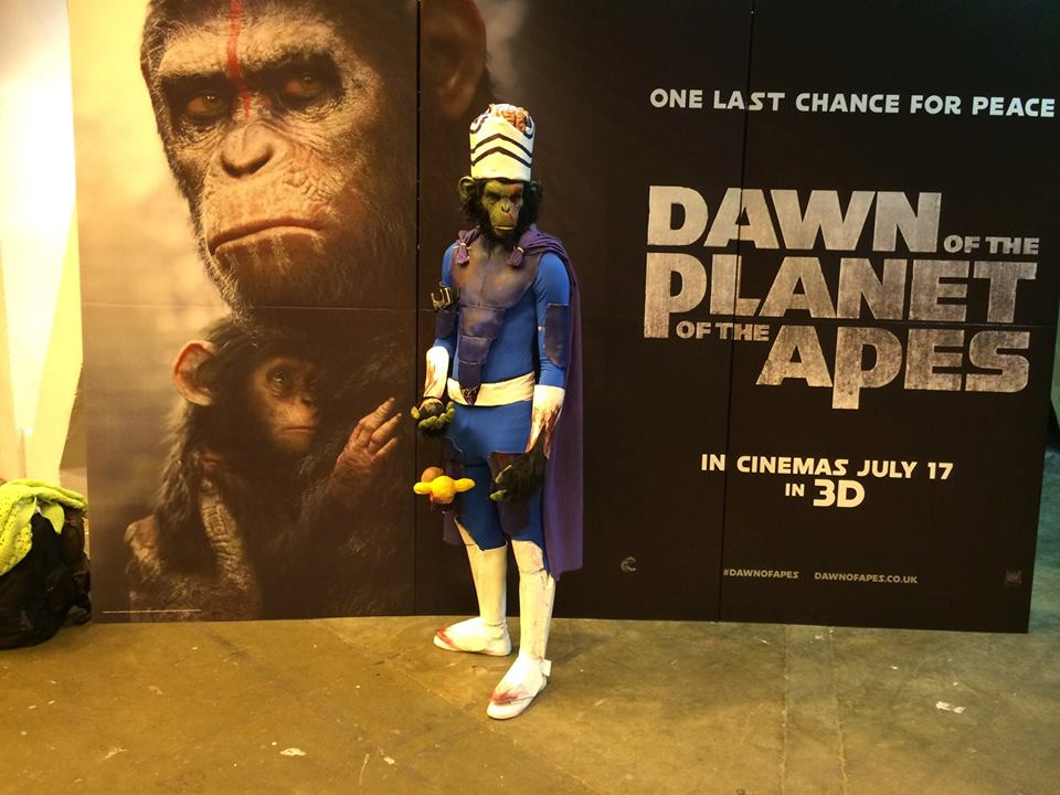 Mojo Jojo Dawn of the Planet of the Apes