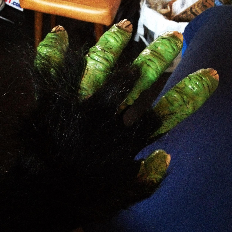 Mojo Jojo hands
