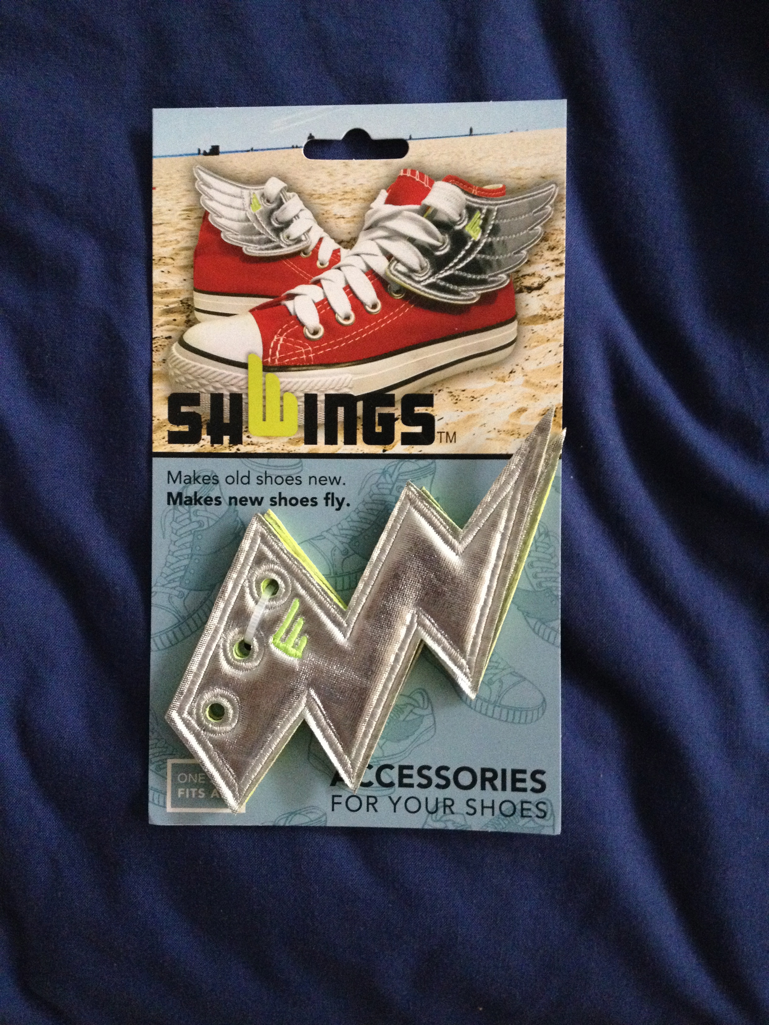 Shoe Lightning Bolts