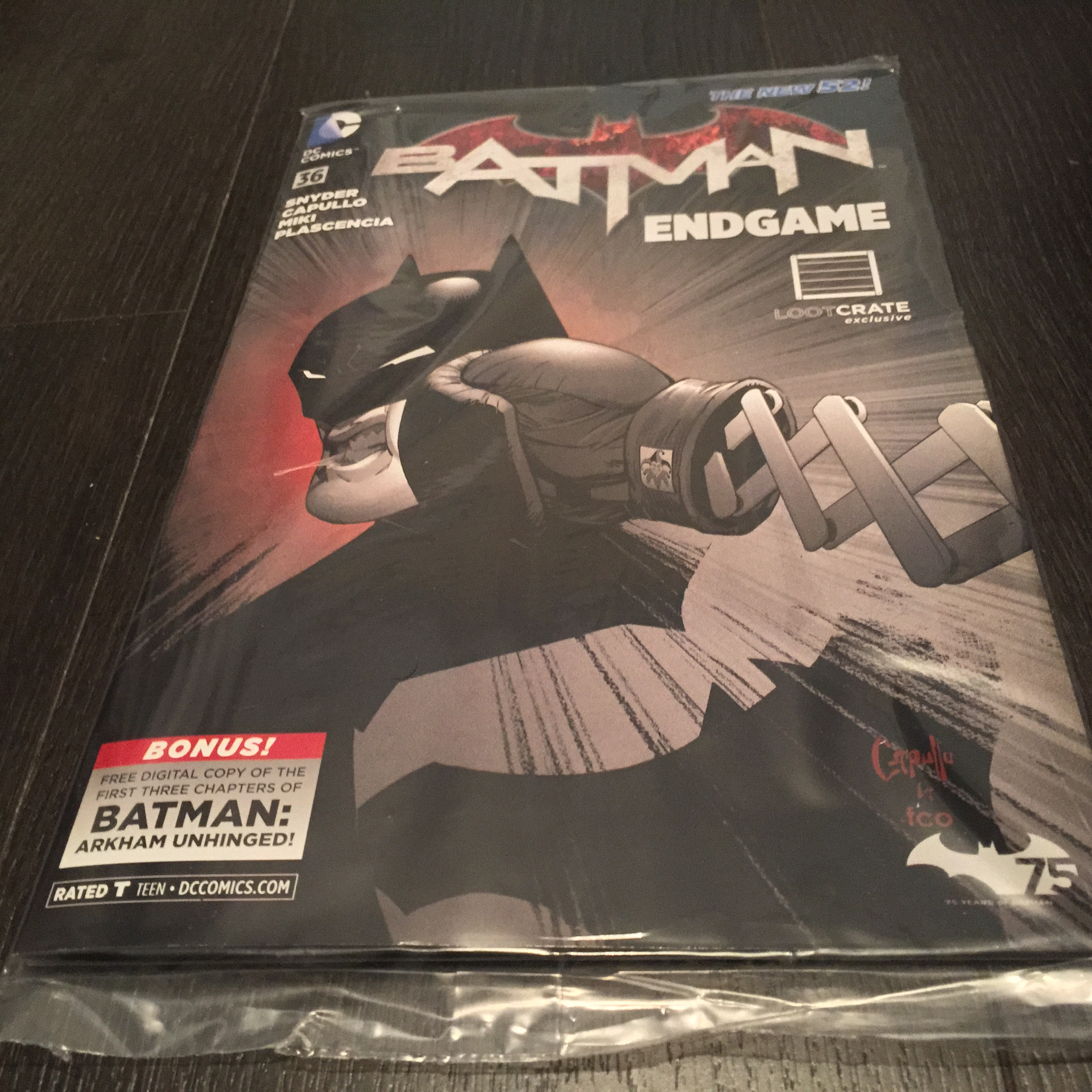 Batman issue 36 Loot Crate