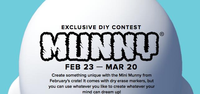 Munny Contest