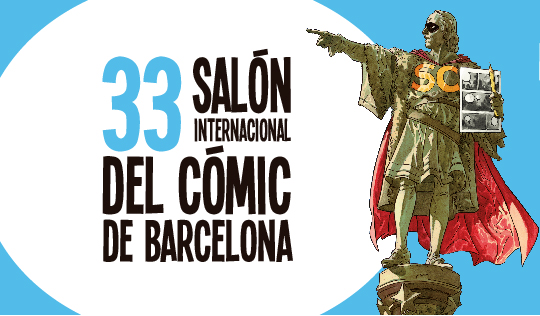 33 salon internacional del comic de barcelona