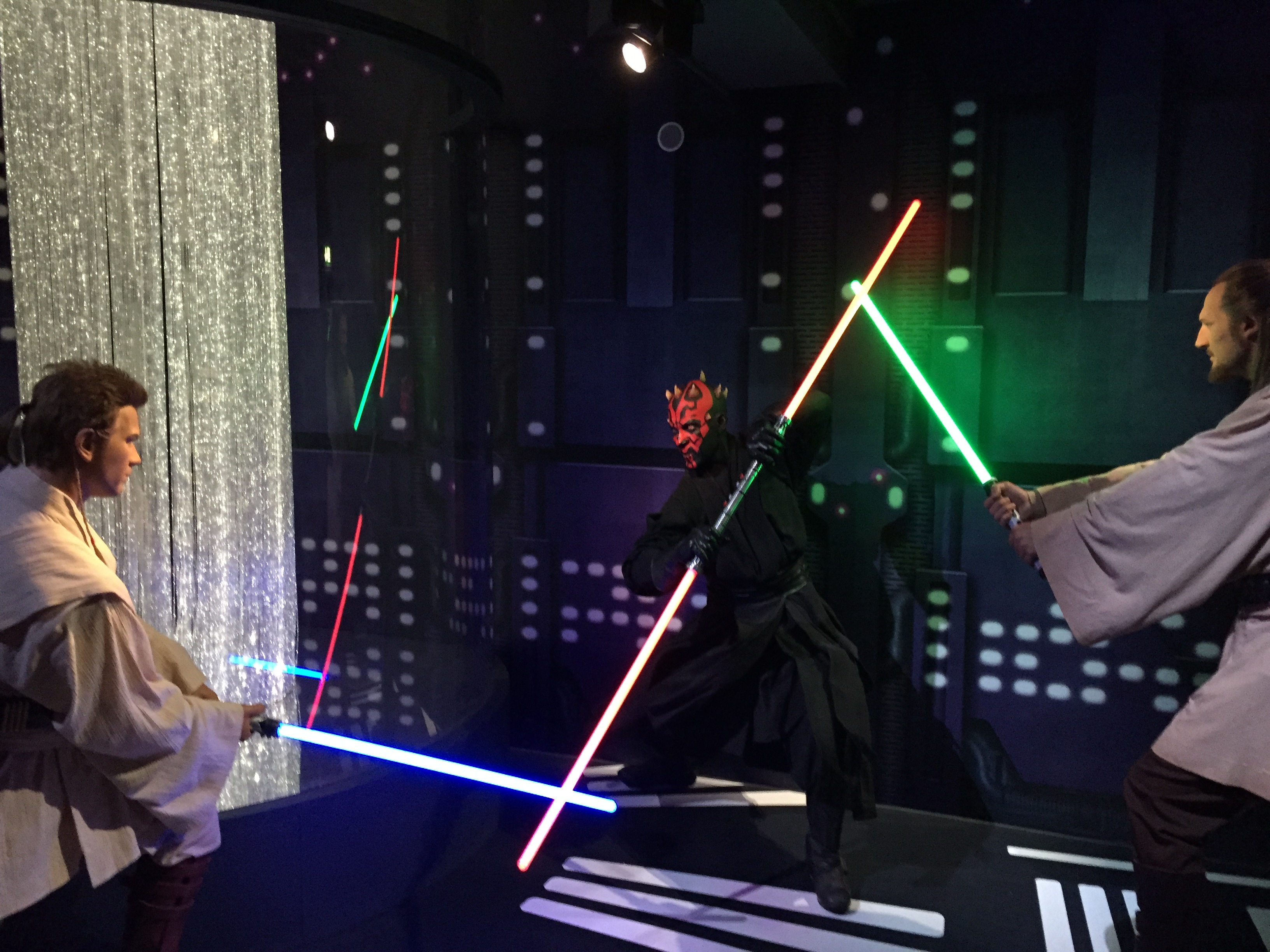 Jedi fight - Star Wars Madame Tussauds