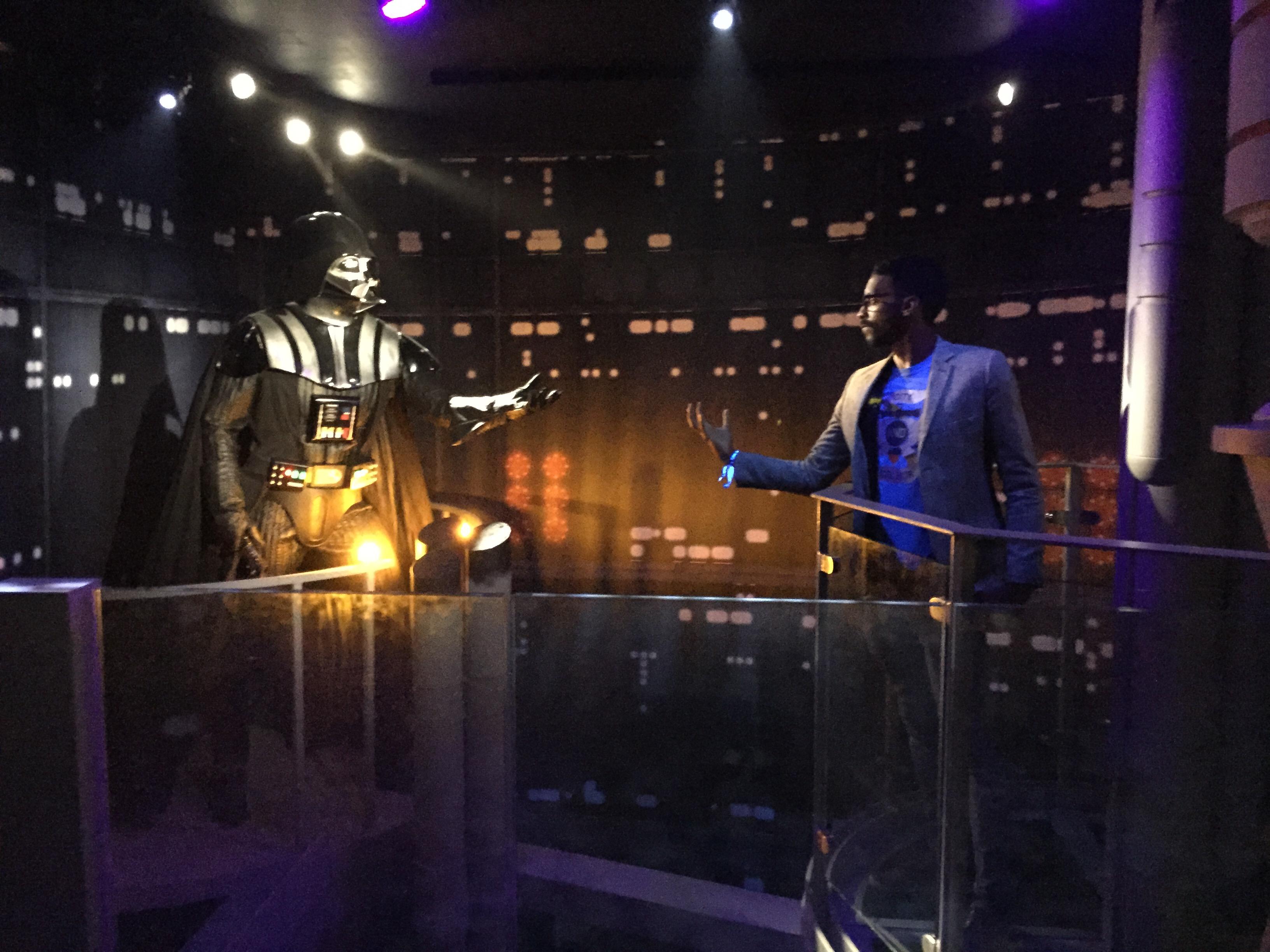 TV Trev vs Darth Vader