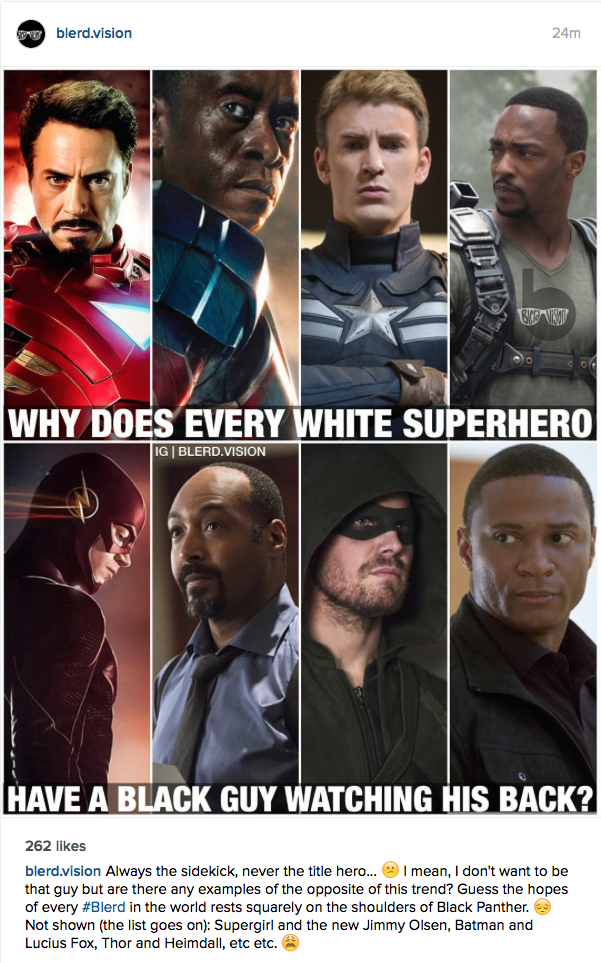 Black Super hero