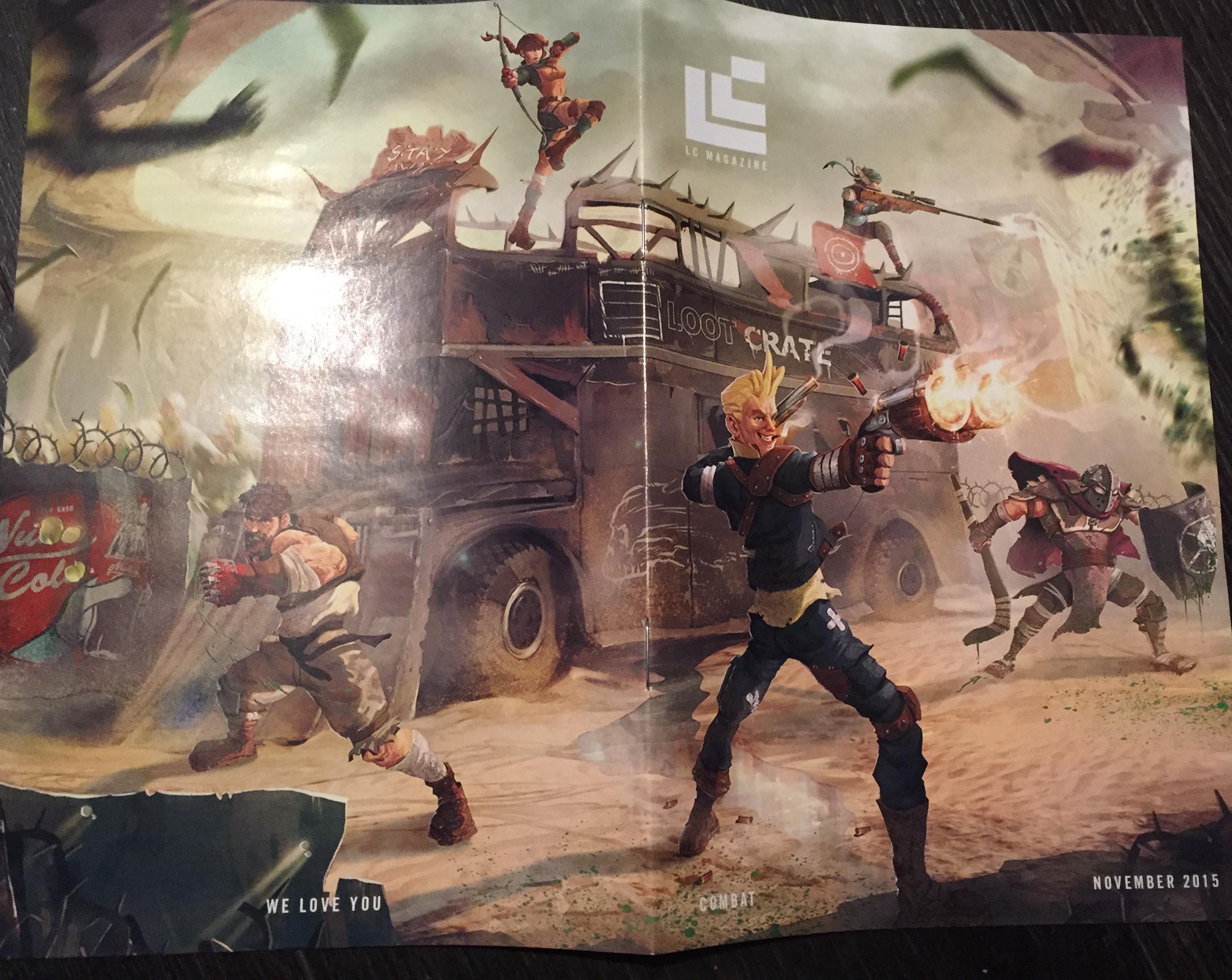 Loot Crate combat