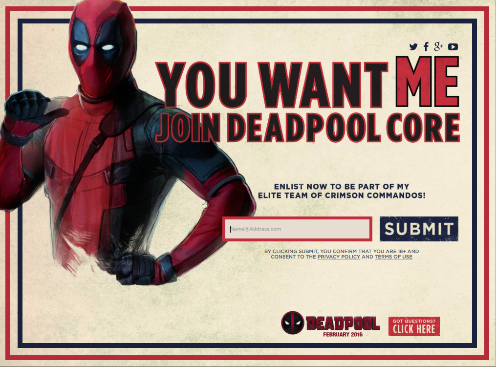 Deadpool core