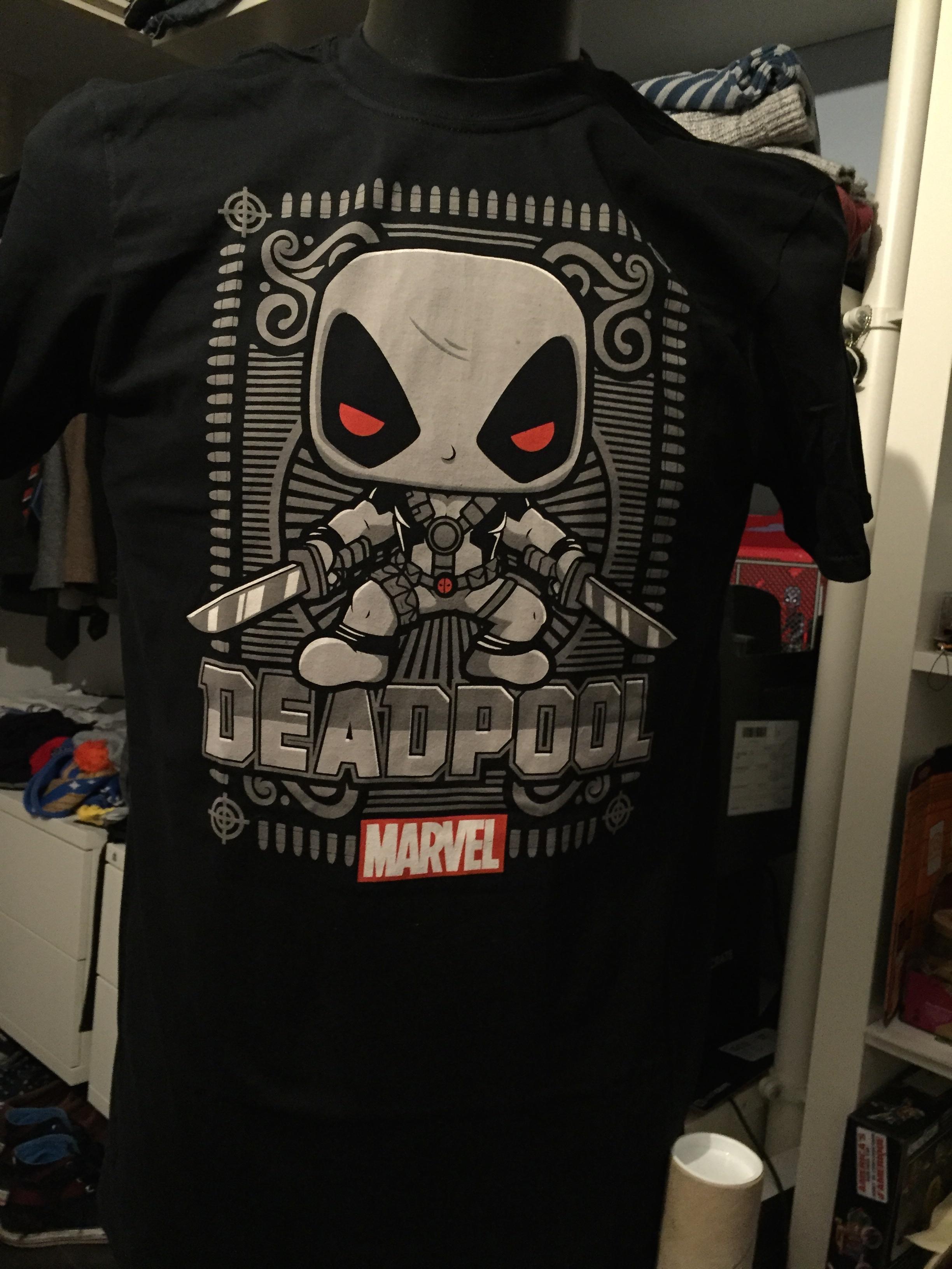 x-force deadpool t-shirt