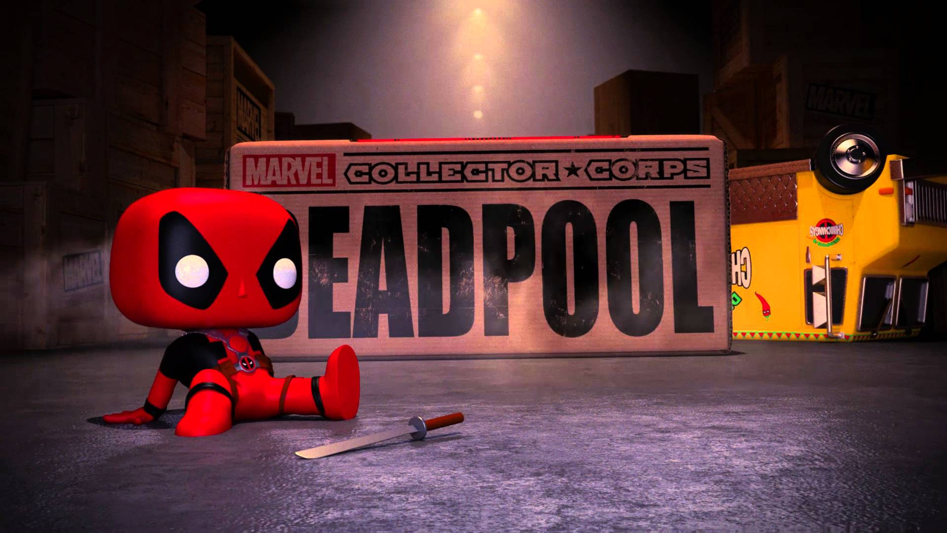 Deadpool Collector corps