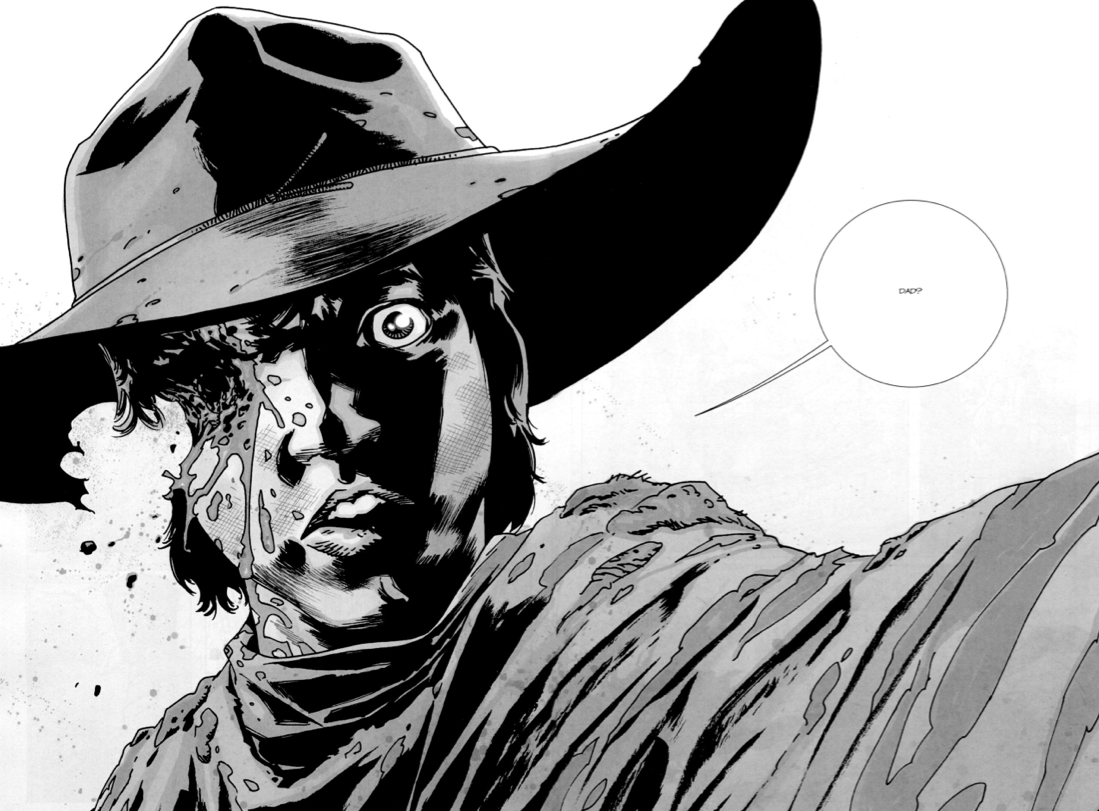Comic Carl lost eye