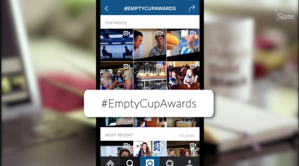 Empty cup awards