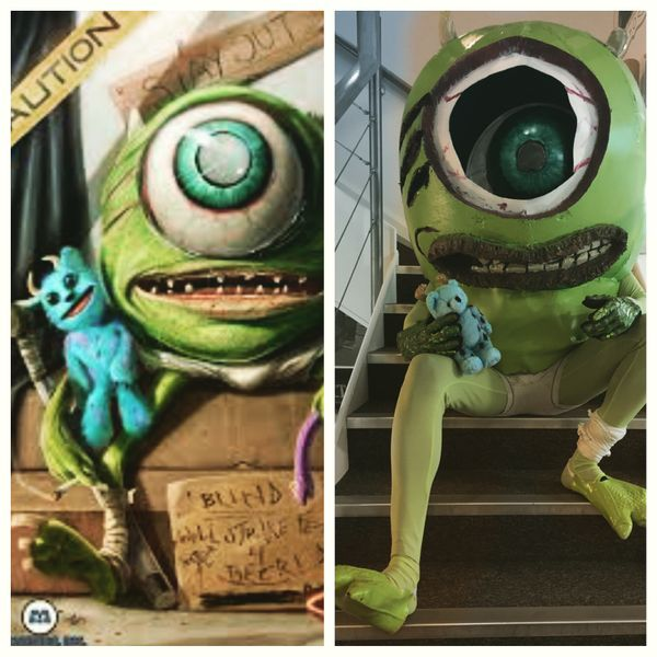 Making Dan Luvisi's Mike Wazowski